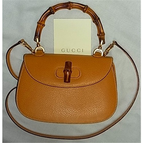 watch cecd5 d7c43 OLD Gucci バンブー2Wayショルダー付きハンドバッグ ...