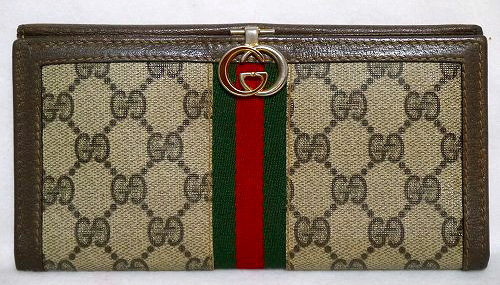 the best attitude 939fa 473e4 OLD Gucci 長財布(茶) | Vintage Shop Rococo