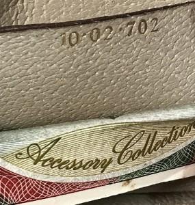 オールドグッチ 皮タグ 裏の数字 Rococo