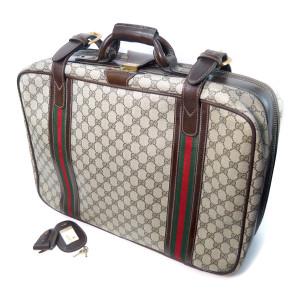 オールドグッチ 旅行カバン スーツケース GG